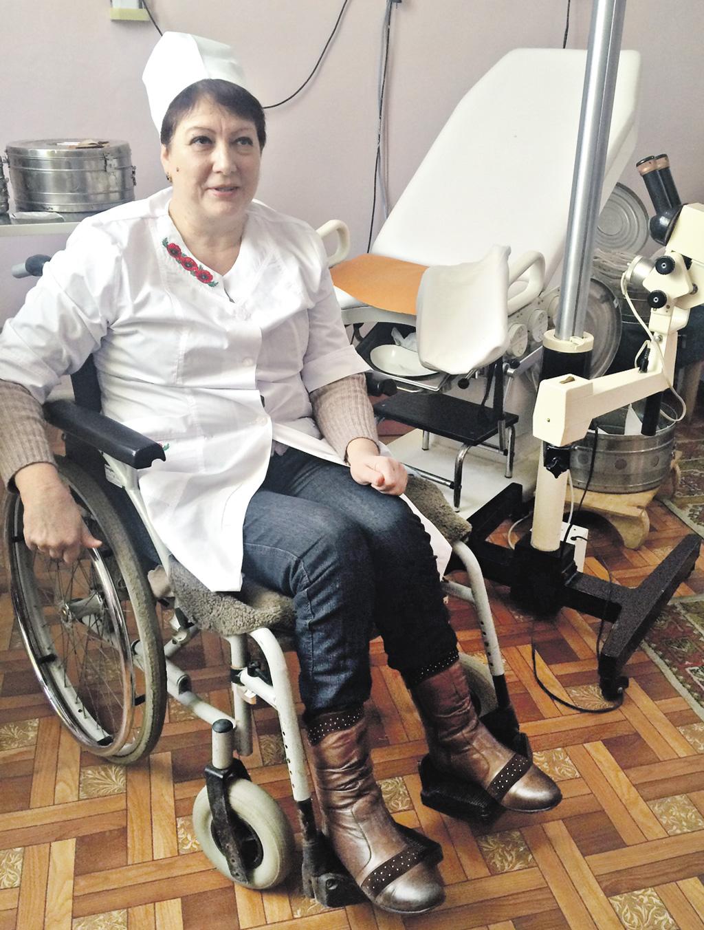 Рубрика: Дій активно! Живи позитивно! Єдина лікарка на візку в країні мешкає в Хмільнику