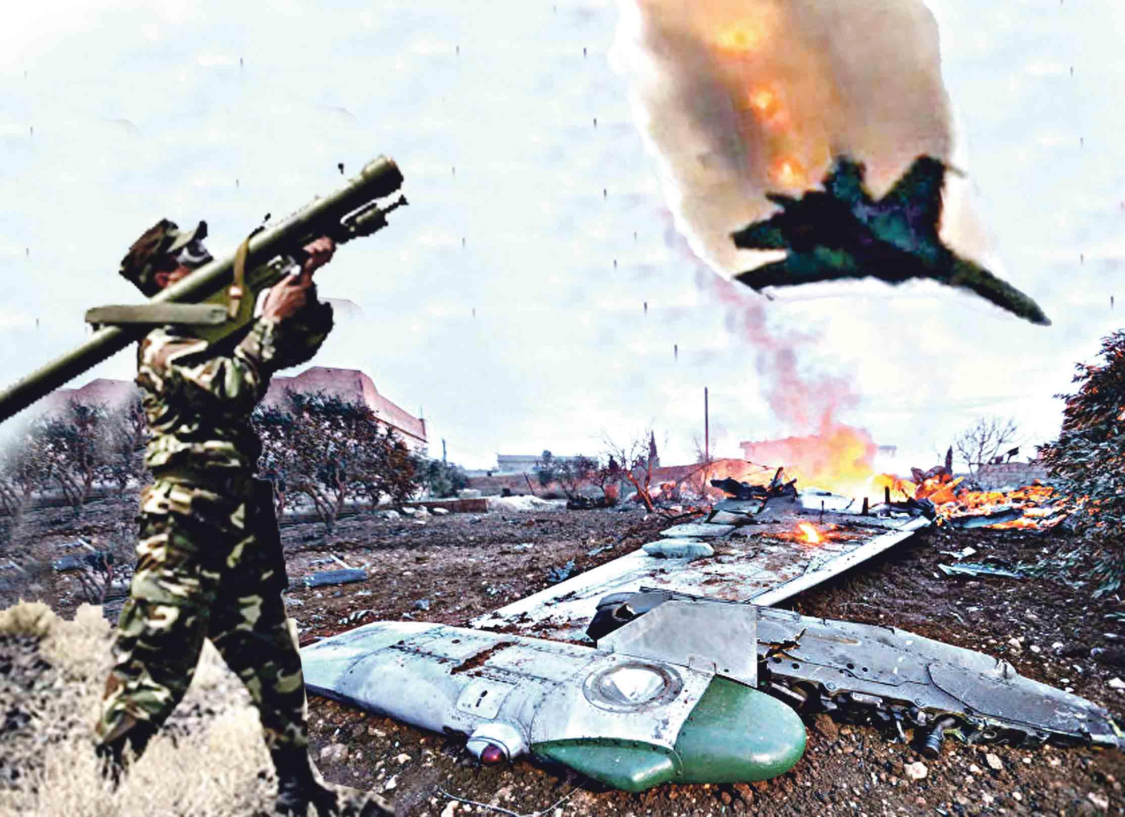 Ракетою із Калинівських складів збили російський літак Су-25 у Сирії, — таку сенсаційну заяву зробили росіяни