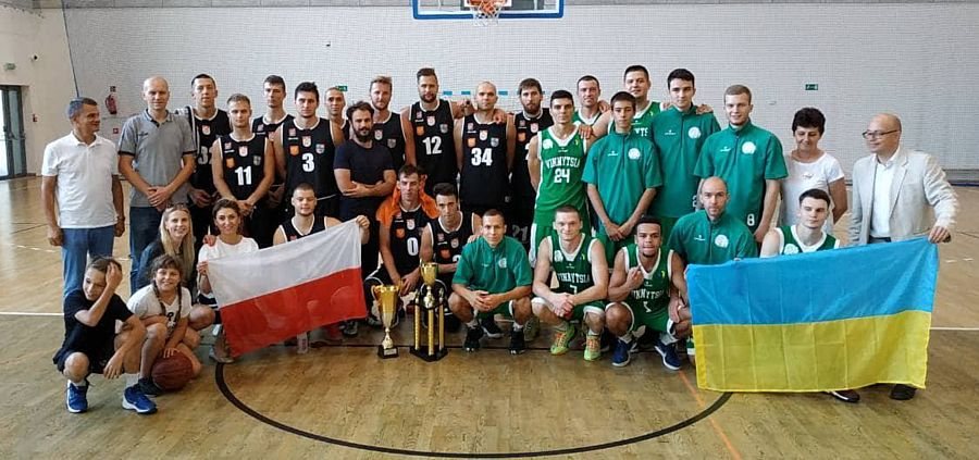 «Вінницькі зубри» перемогли на «Kielce Basket Cup 2018»