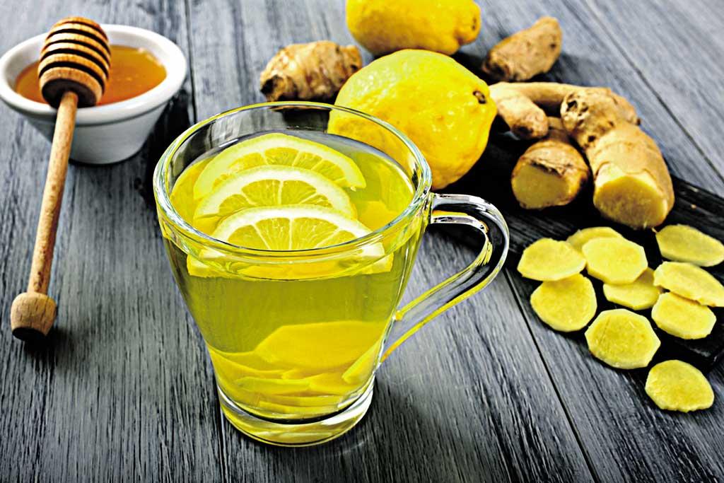 Імбир та лимон із сіллю розбудять травні ферменти