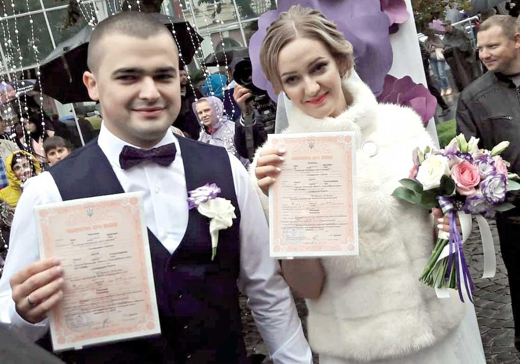 Іван + Олеся – весілля сезону на день Вінниці