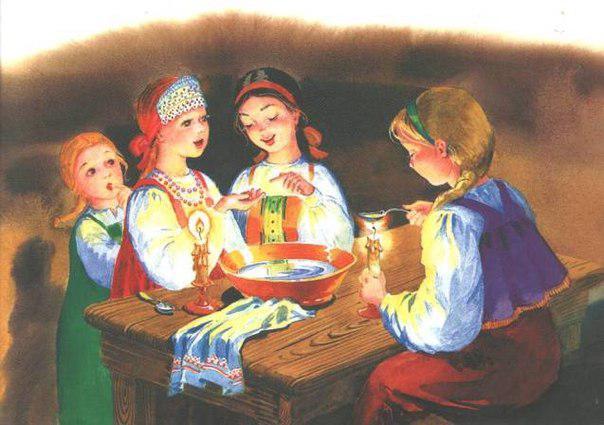 На Андріївські вечорниці дівчата вгадували долю, а хлопці кусали калиту