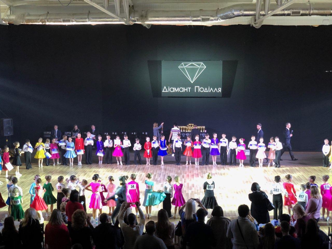 1 грудня у Вінниці відбувся всеукраїнський турнір «Діамант Поділля» з бальних танців