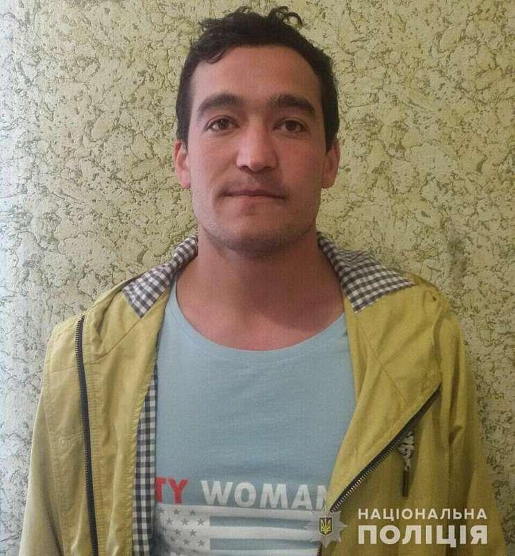 Вінницька поліція розшукує узбека за підозрою у вчиненні злочину