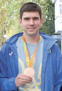 Золоту медаль привіз із Бєлграда вінницький спортсмен-паралімпієць