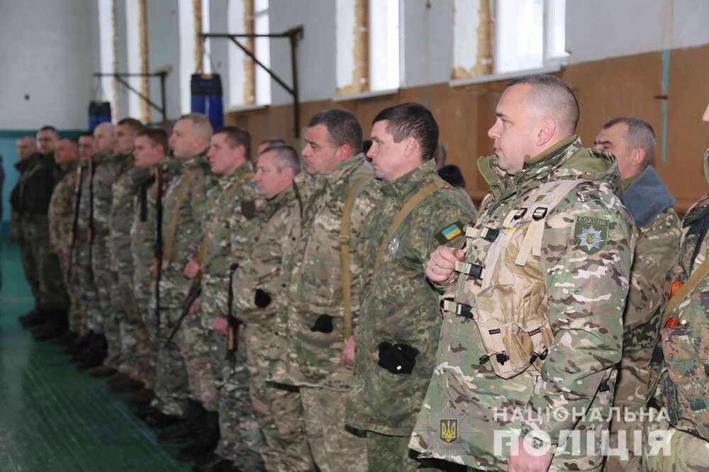 Вінницькі поліцейські знову вирушили на фронт