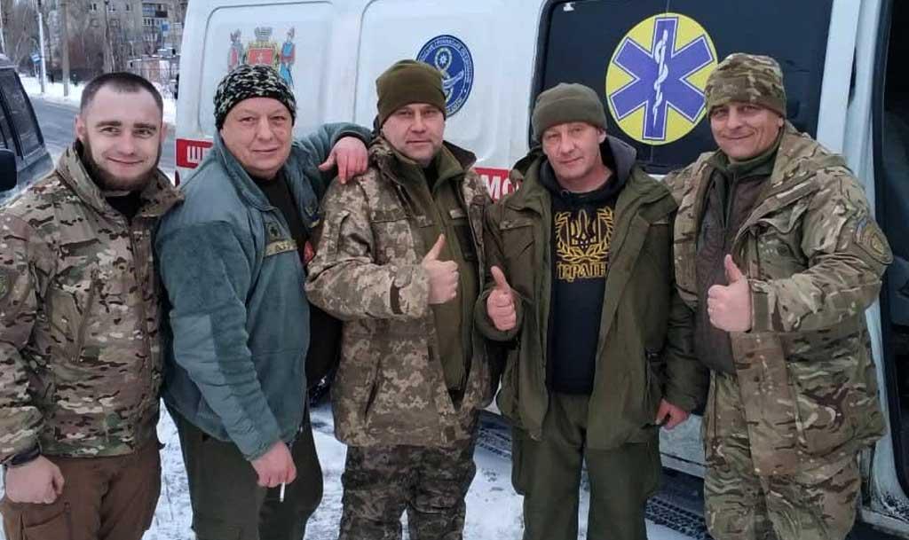 100 кг «олів'є» в АТО вінничанам завіз Миколай
