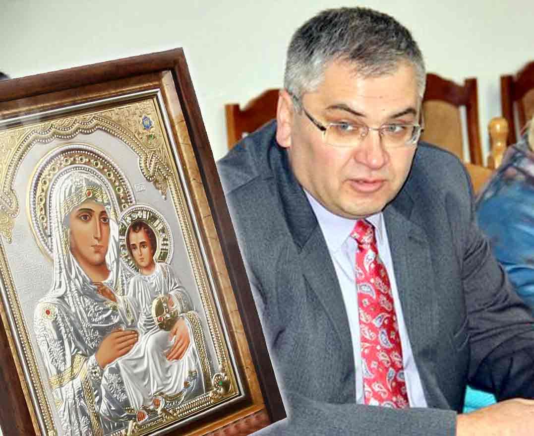 Історія викраденої ікони Божої Матері, яку Віктор Легун привіз у Стрижавку з Єрусалима (відео)