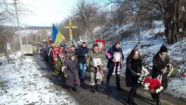 Фронтовика Ярослава Комара поховали у Тростянці