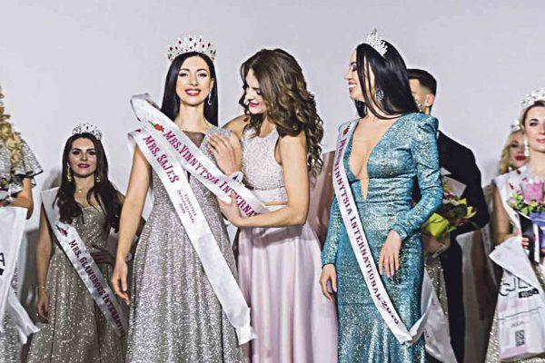 Косметолог з Літина отримала корону Mrs. Vinnytsia International 2019