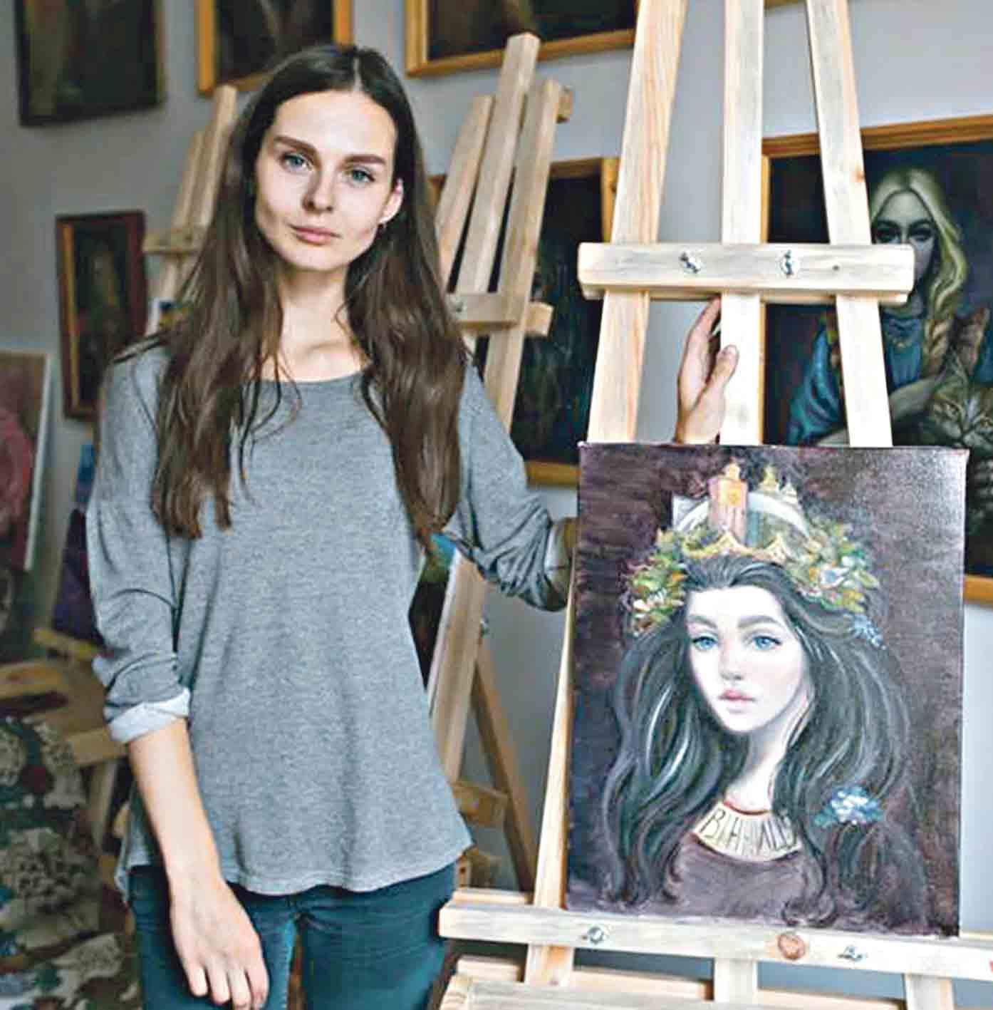 Портрети-фентезі пише вінницька художниця