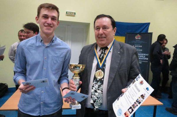 Перший аматорський чемпіонат з шахів пройшов у Вінниці