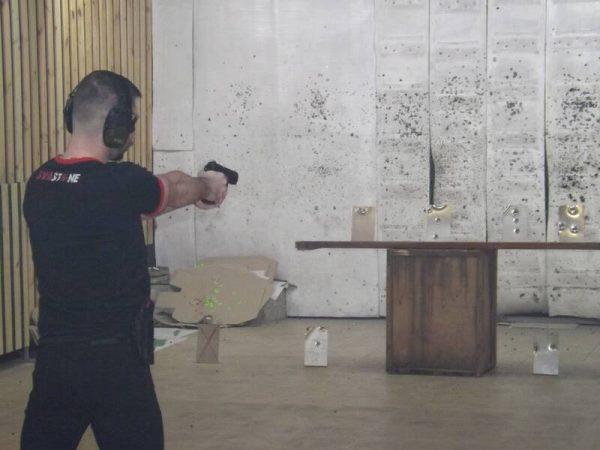Вінничани вперше змагались у стрільбі із пістолетів під гумову кулю (відео)
