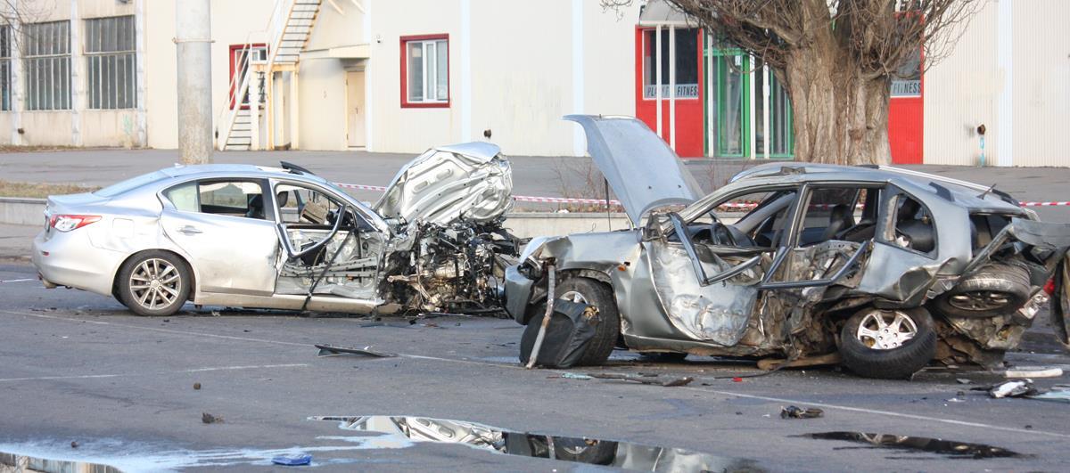 Аварія на Келецькій біля гроша (фоторепортаж)