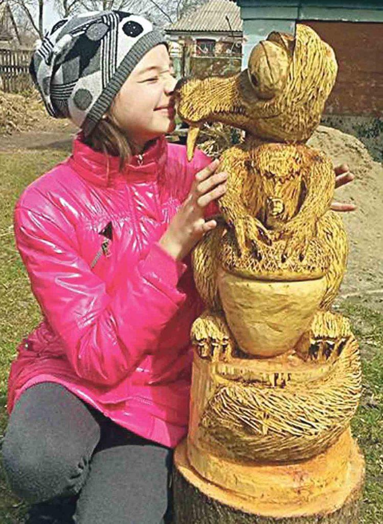 Колекцію тварин із дерева виготовив майстер з Уладівки