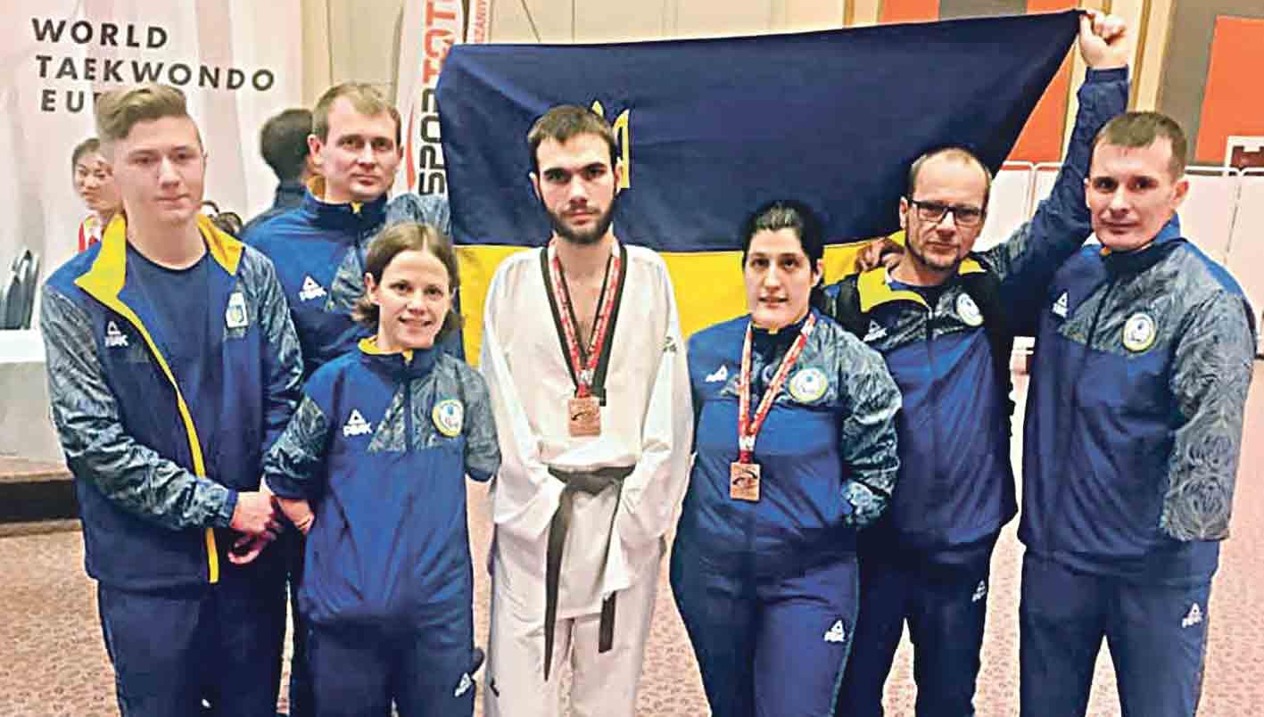 Медалі на чемпіонаті світу здобули три ладижинських спортсмени