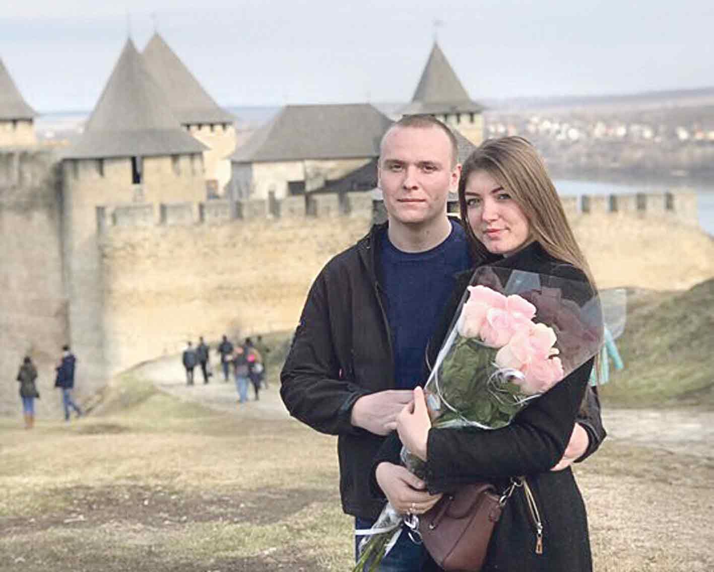 Як вінничанин освідчувався коханій біля фортеці