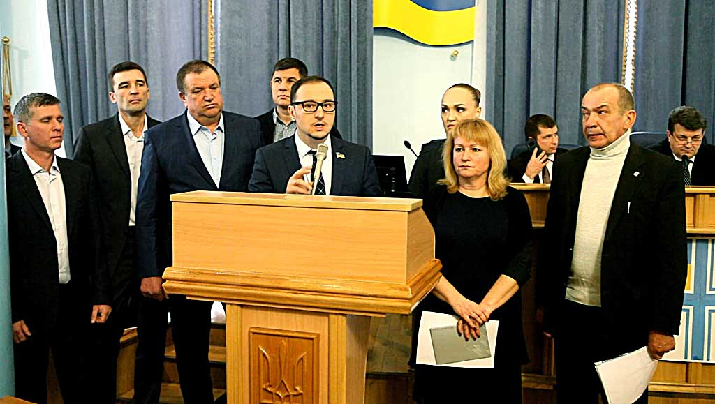 Імпічменту Президента Порошенка вимагала фракція «Батьківщина» у Вінницькій облраді, а БПП заявило про порушення у «Батьківщині»