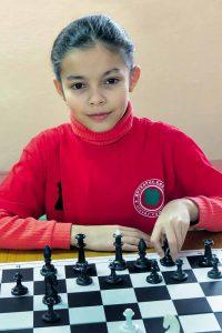 Чемпіонка з шахів 10-річна вінничанка Тетянка Бойко