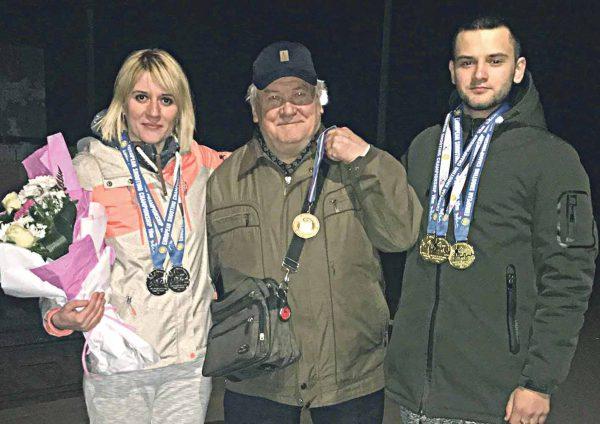 3 золотих та 2 срібних медалі здобули вінницькі стрільці у Хорватії