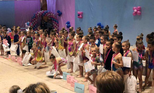 Міжнародний турнір з художньої гімнастики зібрав рекордну кількість учасників і глядачів