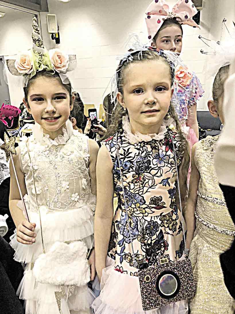 Юні моделі з Вінниці дефілювали в Лондоні та стали зірками нової колекції