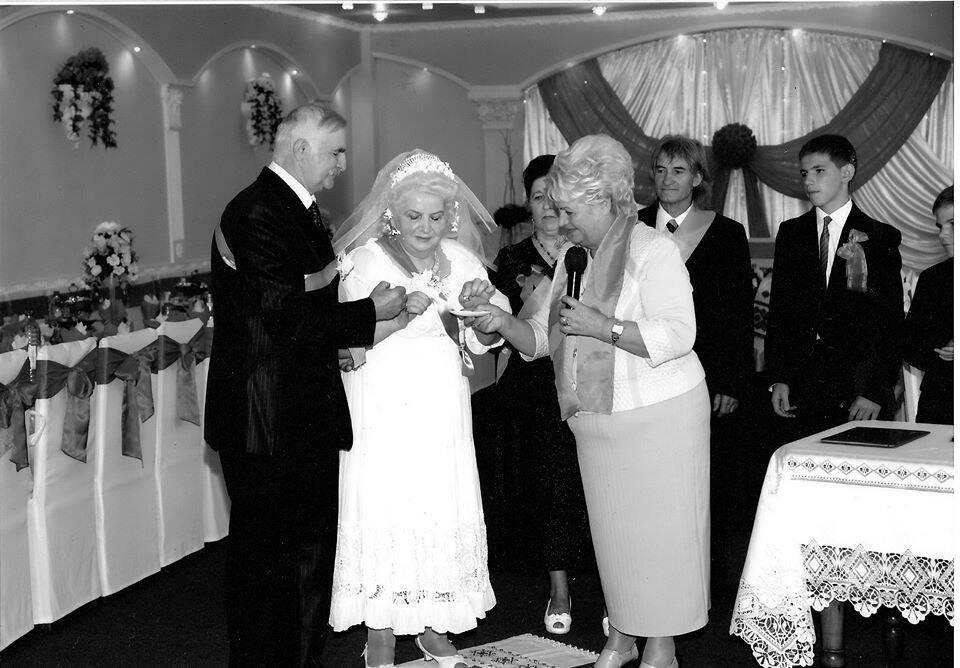 Жмеринське подружжя відсвяткувало янтарне весілля