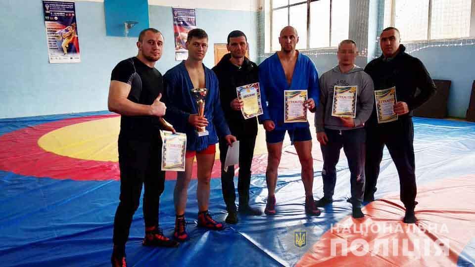 Вінницькі поліцейські стали чемпіонами області із самбо