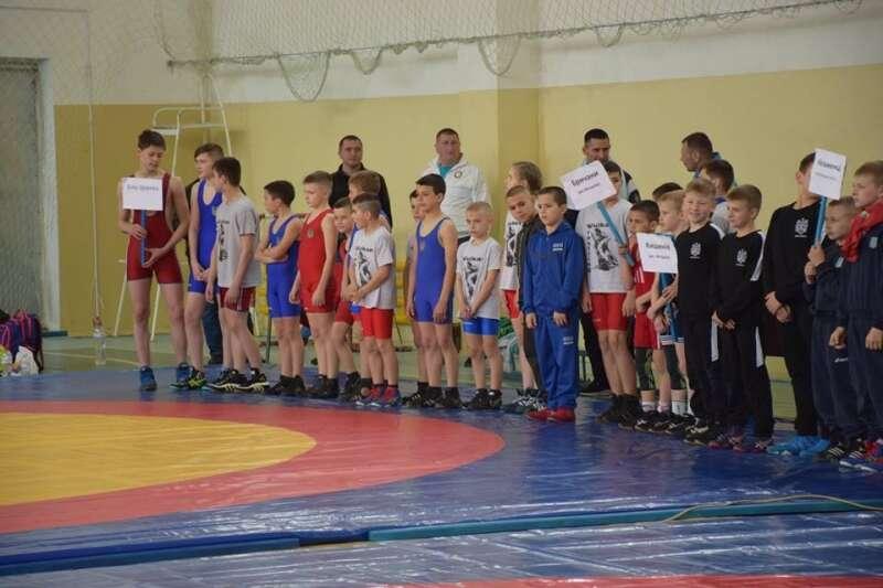 Чемпіонат з вільної боротьби провели на Вінниччині