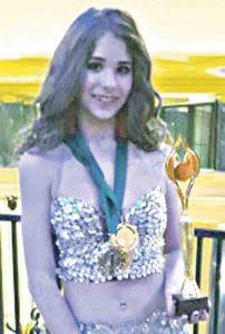 Донька бійця АТО здобула дві медалі на чемпіонаті Європи з танців