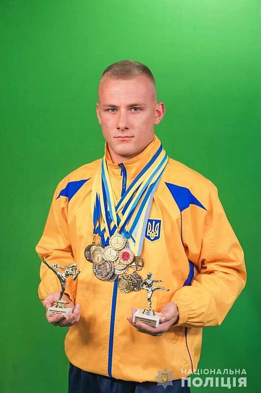 Чемпіон України з ушу-саньда працює у вінницькій поліції