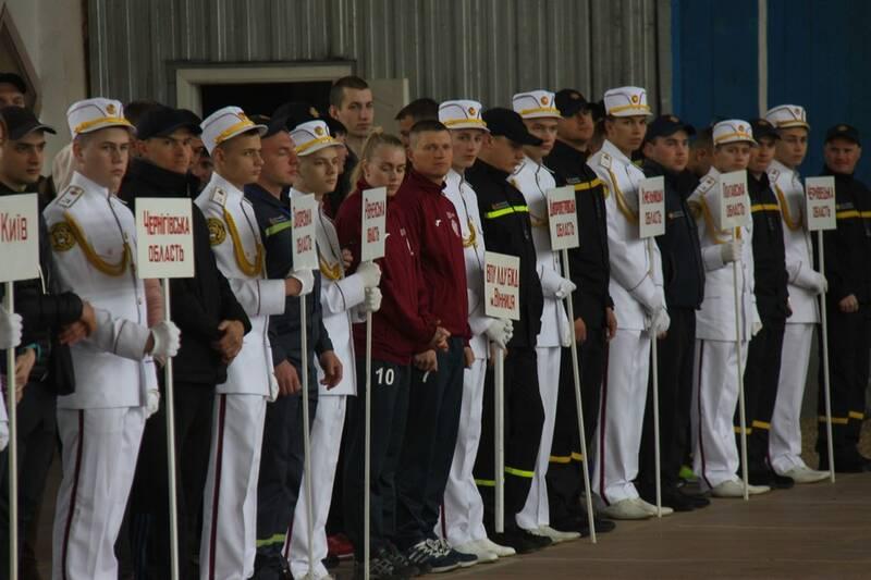 Більше ста рятувальників змагаються у силі, влучності та вправності у Вінниці