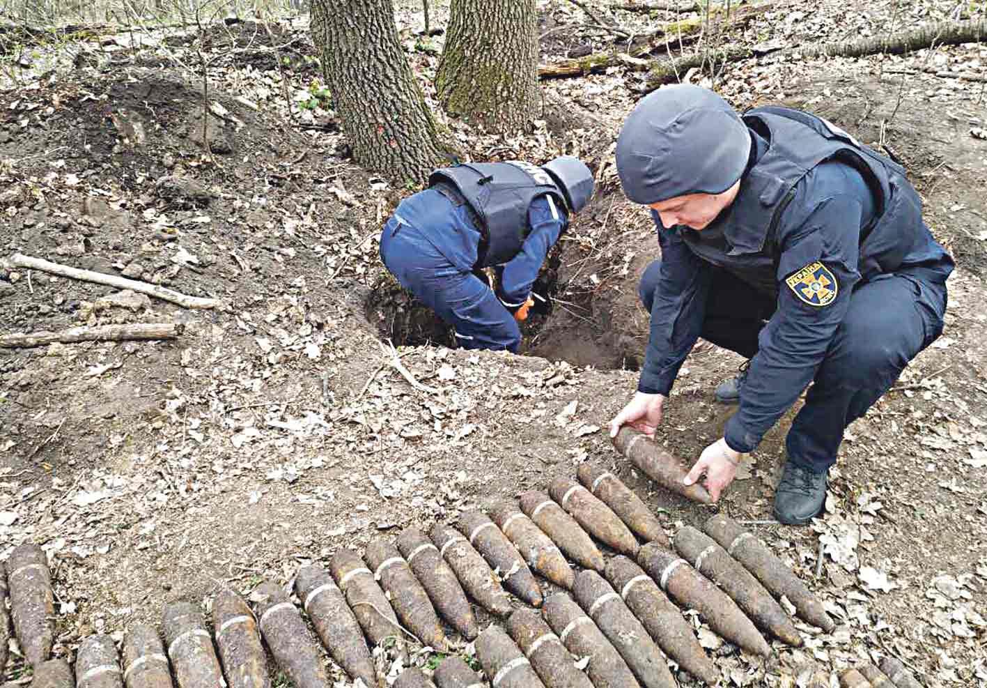 208 снарядів та мін знайшли у Оратівському районі