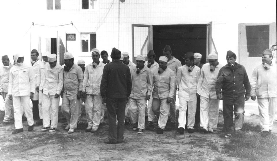 Більше 200 вінницьких пожежників ліквідовували наслідки Чорнобильської трагедії
