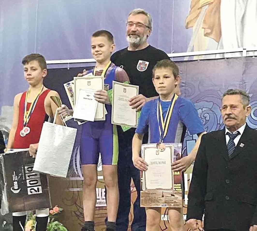 Три рекорди України встановив спортсмен зі Жмеринки