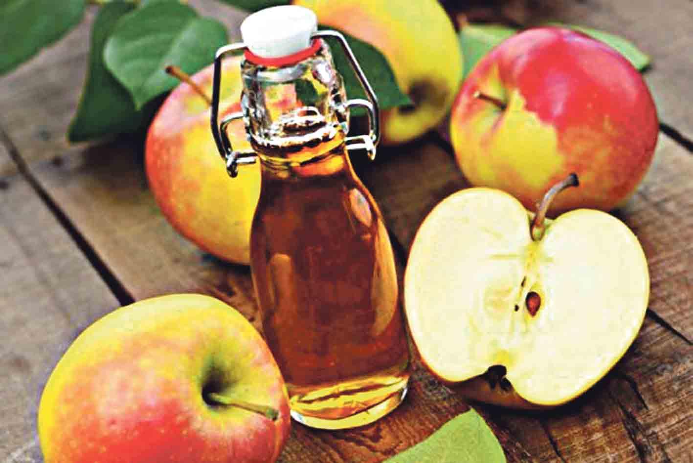 Яблучний оцет проти сезонної алергії