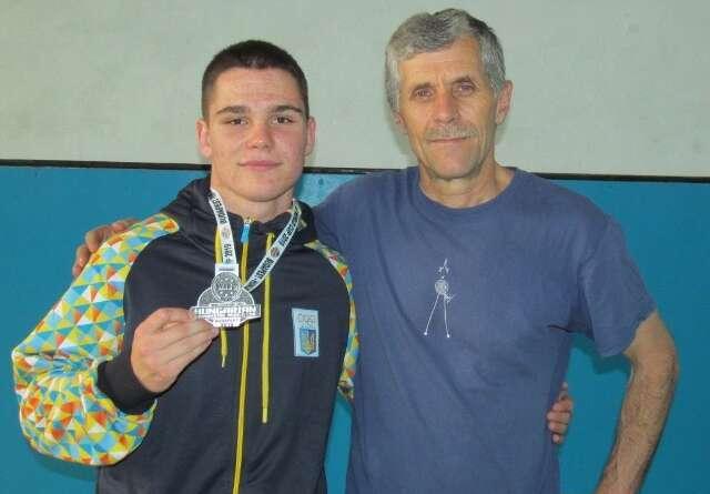 Спортсмен з Бару здобув срібло в Угорщині