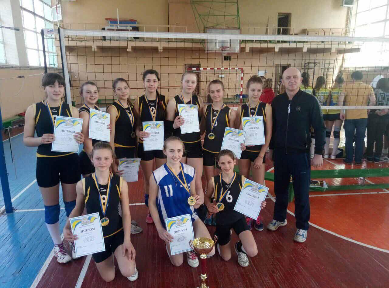 Чемпіонами України стала команда медівських школярок