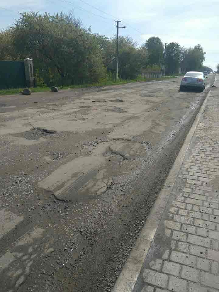 Чи ремонтуватиме Вапнярка державну дорогу із власної кишені?
