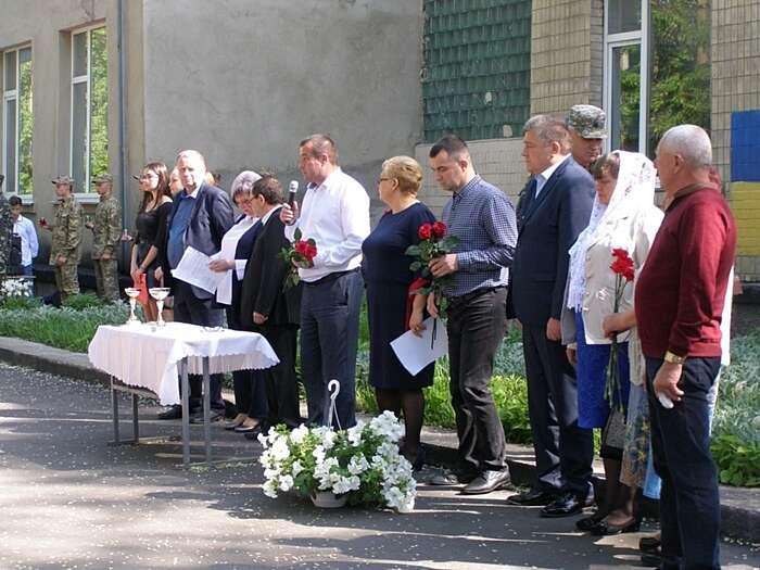 У Липовці вшанували загиблого Героя Романа Грушка