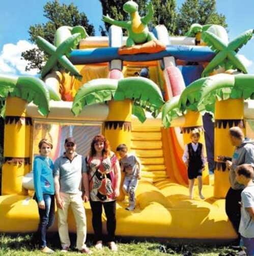 Вандали пошкодили атракціон для дітей в Козятині