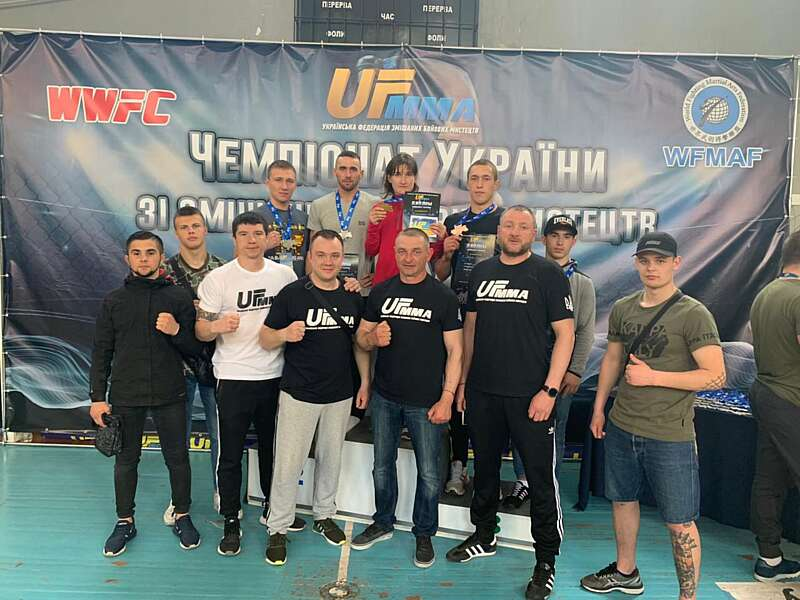 Вінничани вибороли п'ять медалей на чемпіонаті України зі змішаних бойових мистецтв