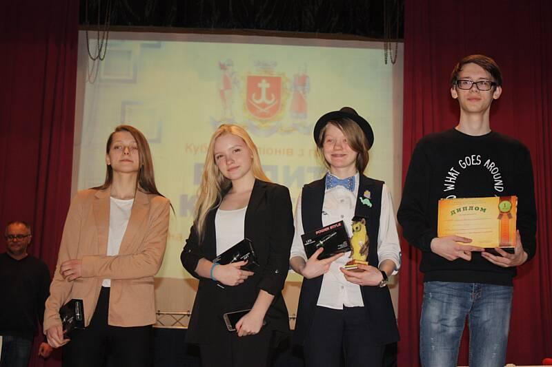 У Вінниці визначили ерудитів серед школярів та студентів