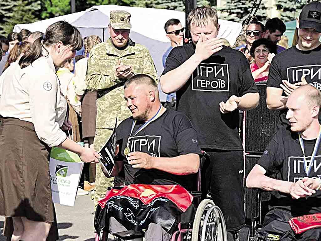 Як Зьома з Козятинщини, який на війні втратив ноги, виграв «золото»