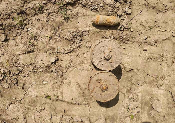 Вінницькі піротехніки знешкодили чотири старі боєприпаси