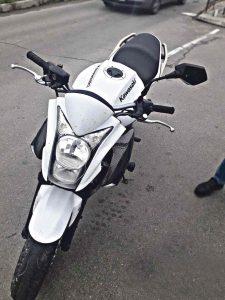 Викрадений в Італії мотоцикл знайшли вінницькі «копи»