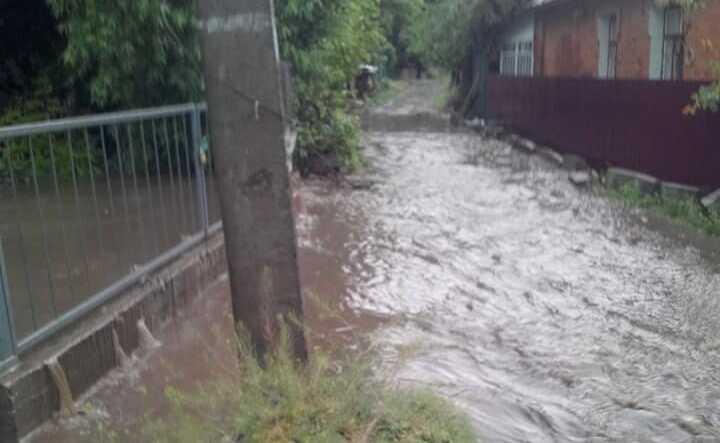 Трасу державного значення затопило у Гайсині