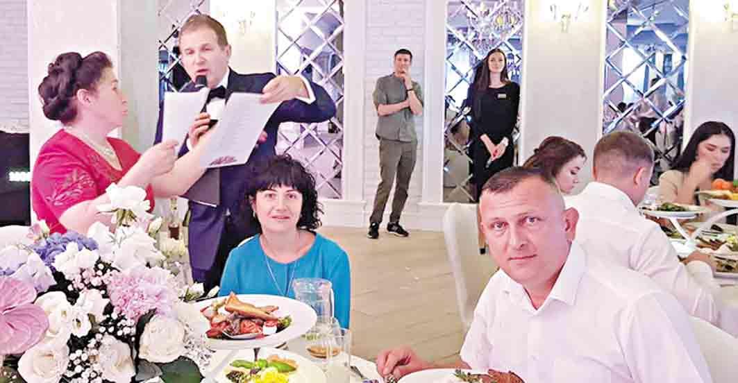Леонід Галушко оженив сина у «Франції»