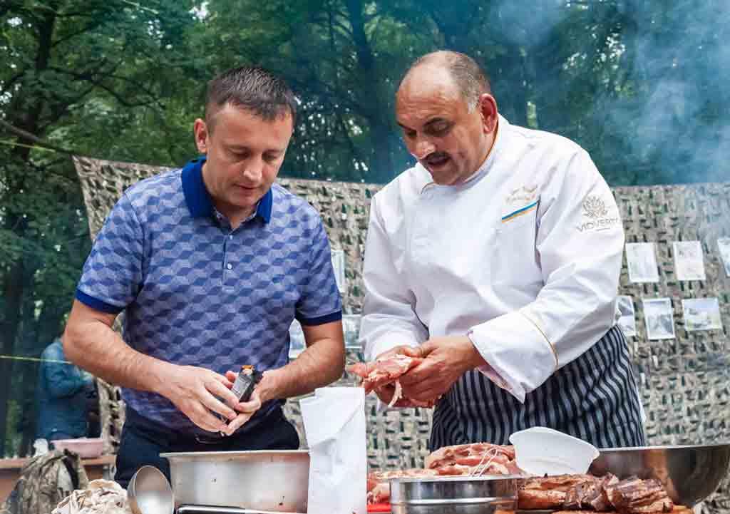 Сергій Кудлаєнко: Фестиваль польової кухні – зустріч старих друзів заради благородної мети