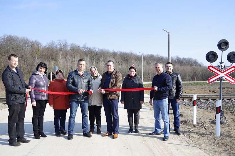 Довгоочікувана об'їзна дорога навколо с.Оляниця відкрита